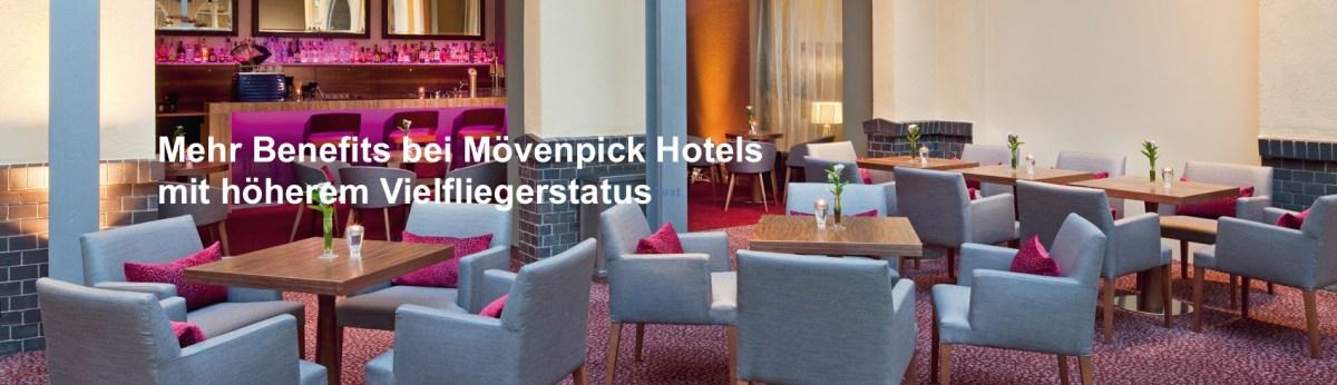 Mövenpick Hotels: Mehr Benefits mit hohem Vielfliegerstatus
