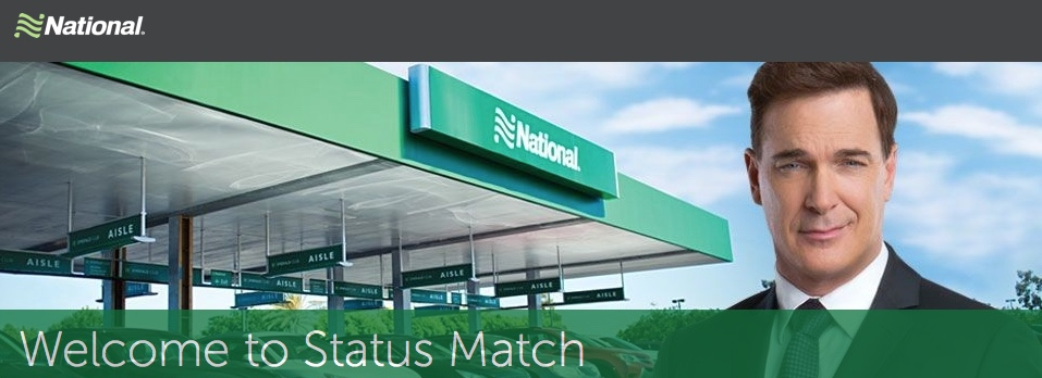 Status Match: National Car Emerald Club