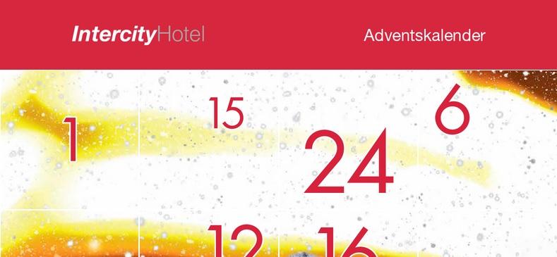 IntercityHotel Adventskalender 2019
