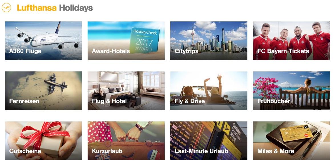 Lufthansa Holidays Gutschein: 50 Euro oder 10% Rabatt