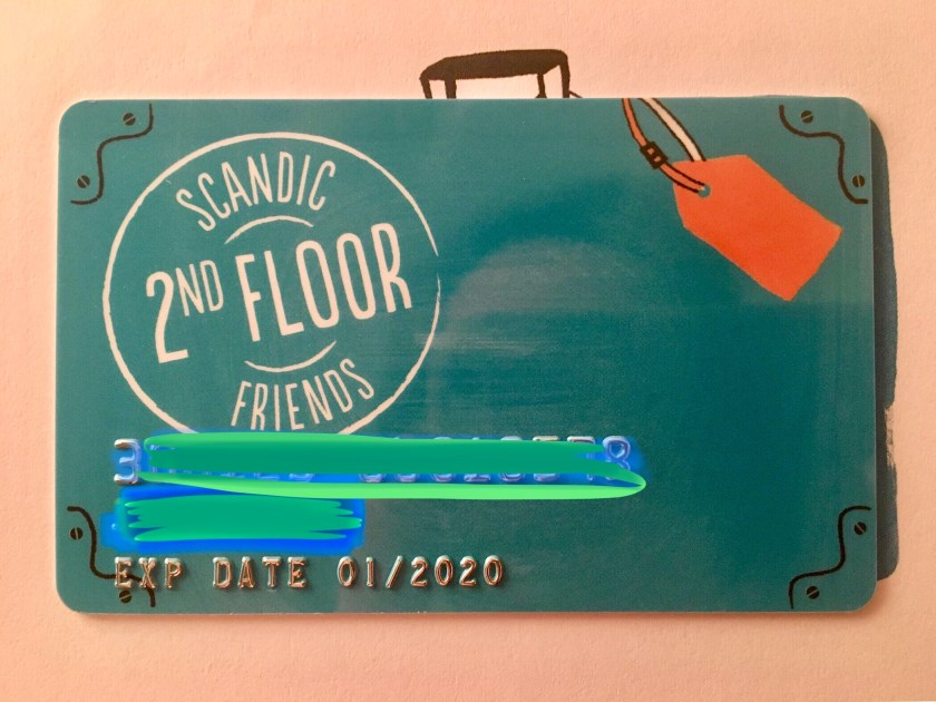 scandic friends 2nd floor status unboxing