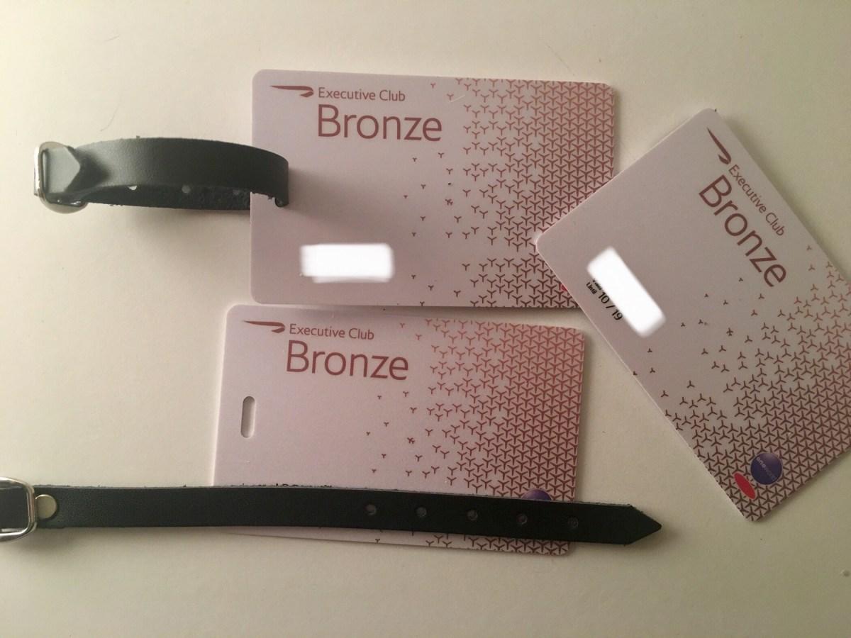 Unoxing: British Airways Executive Club Bronze