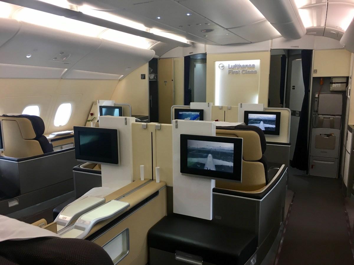Bewertung: Lufthansa First Class A380 Frankfurt – Hong Kong (LH 796)