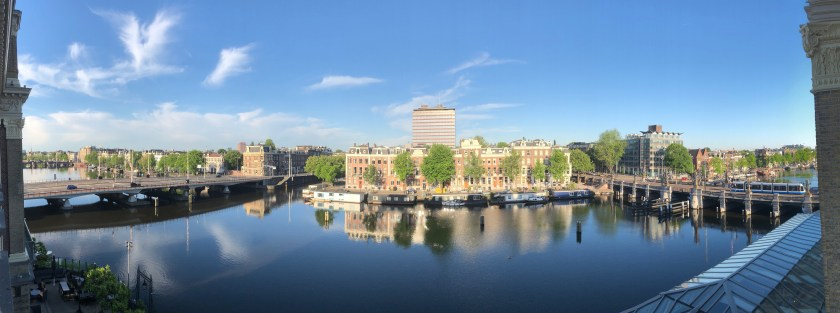 IHG InterContinental Amstel Amsterdam, River View Bewertung Review Panorama