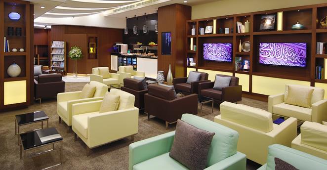 Etihad verkauft Zutritt zur Arrivals Lounge in Abu Dhabi