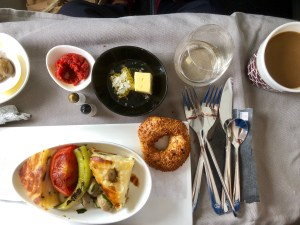 Review Bewertung Turkish Airlines Business Class A321 München - Istanbul mus ist regional regionale business class star alliance