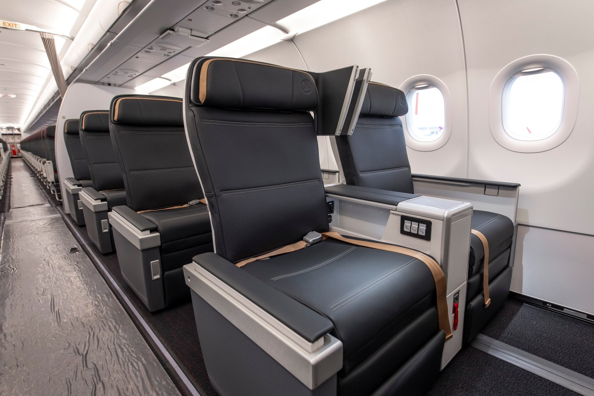 Turkish Airlines Business Class A321neo Rockwell MiQ Star Alliance