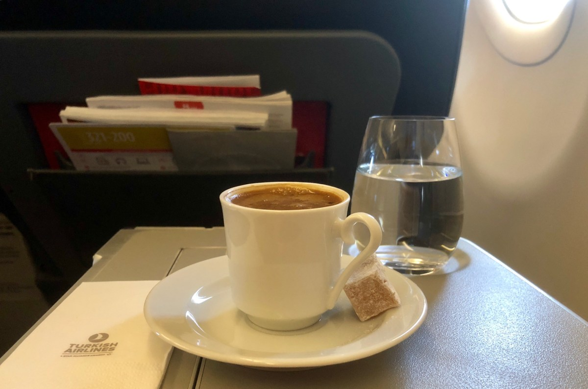 Turkish Airlines Business Class A321 Istanbul – München: Bewertung