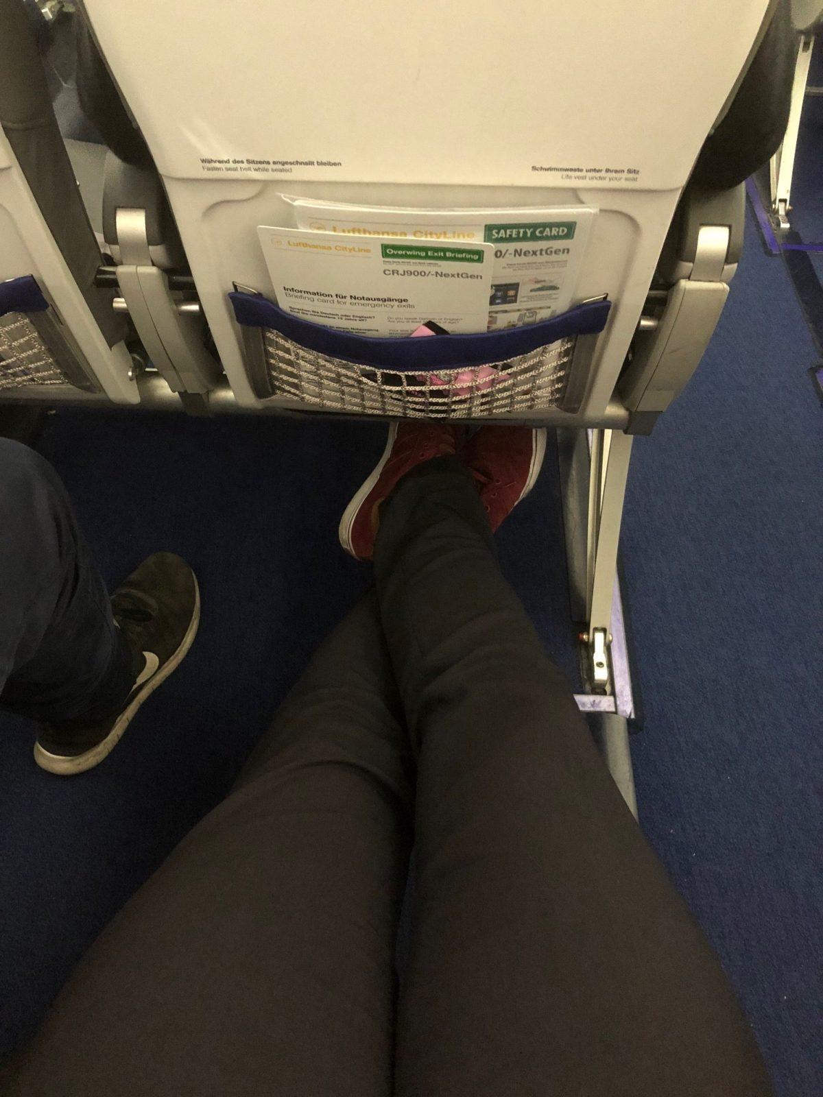 Lufthansa CityLine Economy CRJ-900 München – Münster: Bewertung