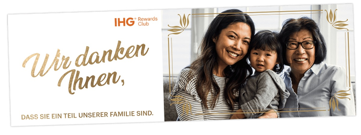 5000 kostenfreie IHG Rewards Club Punkte