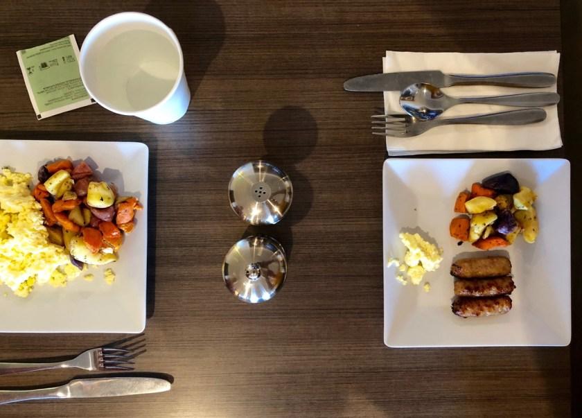 Hyatt Place Page Lake Powell frühstück breakfast