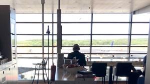 Review American Express Centurion Lounge by Pontus Stockholm Arlanda ARN amex lounge platinum erfahrung view aussicht