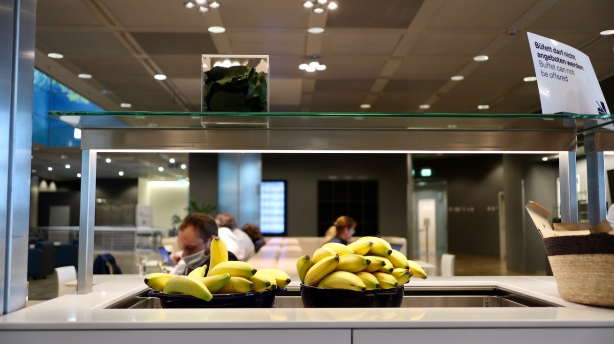 Lufthansa Lounges während Corona