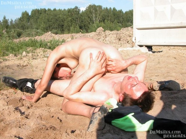 Poor Hobo Goes To Sand Quarry To Have Sex With Still Very Sexy Waif Woman
