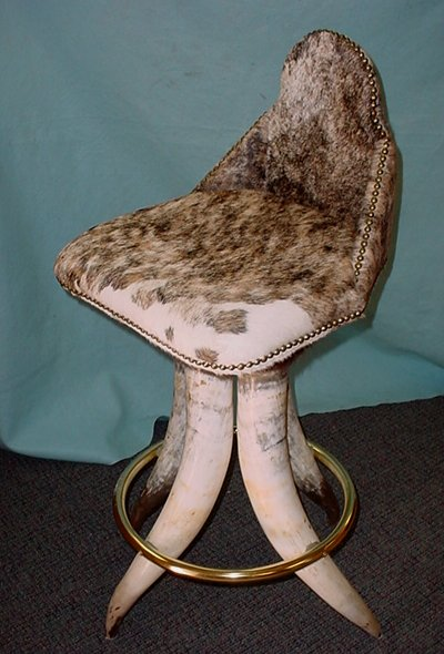 Bull Cow Horn Chair  Longhorn Chair  Western Furniture