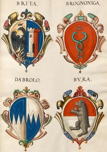 歐洲貴族族徽大全 城市地理與地產生態