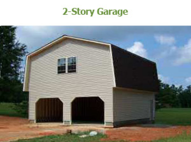 2Story Barn Garage  Bunce Buildings