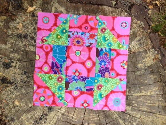 Riley Blake March mystery quilt block