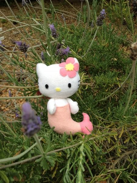 Hello Kitty felt doll