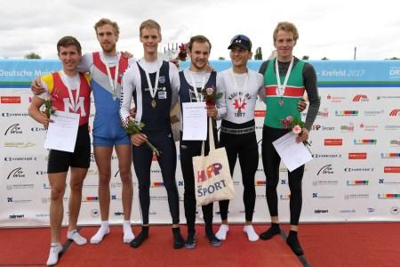 Deutsche Kleinbootmeisterschaften –  die Medaillen sind vergeben