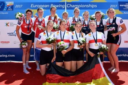 EM – Deutsche Ruderer holen zweimal Gold und einmal Bronze