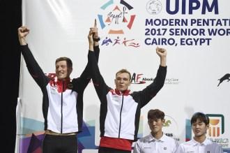 Alexander Nobis und Christian Zillekens gewannen die Silbermedaille in der Staffel.