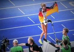 Grandioses deutsches Laufwunder: Konstanze Klosterhalfen brillierte mit 1.500 m Sieg in 3:58,92 min - aktuelle Weltrangvierte.