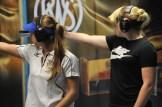 Die beiden jungen Frankfurterinnen von der Oder, Josefin Eder (re.) und Hauptgefreiter Michelle Skerries, gewannen mit der Luftpistole Gold und Bronze.