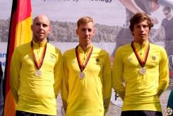 Das deutsche Herren-Team sicherte auch den WM-Titel in der Herren-Mannschaftswertung.