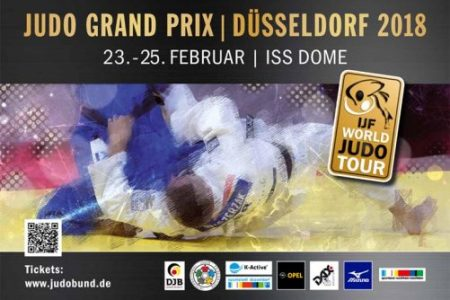 Judo-Grand-Prix 2018 im ISS Dome in Düsseldorf
