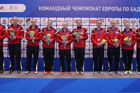 Deutschlands Damen sind Vize-Europameister