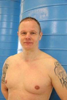Thorsten Kardel schwimmt sich in Warendorf auf die Trials in den USA ein.