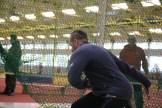 Marcel Günther bekam intensives Diskustraining. Er will zu den Invictus Games in Sydney.