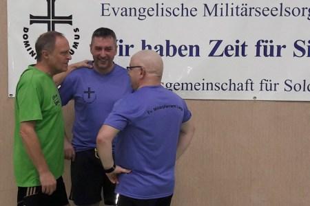 Hallenfußballturnier  des Evangelischen Militärpfarramtes Laage