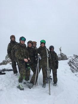 Auf dem Stuibenkopf (1.942 Meter).