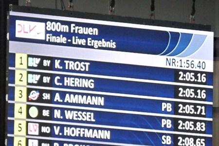 """Christina Hering – Deutsche 800-Meter-Vizemeisterin – """"Ich möchte von vorne laufen"""""""