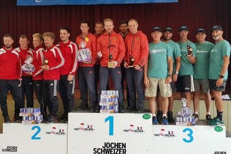 Erfolgreiche dritte Station der World Cup Series der Sportfördergruppe der Bundeswehr Altenstadt im heimischen Peiting
