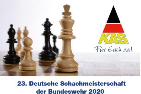 23. Deutsche Schachmeisterschaft der Bundeswehr 2020