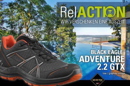 HAIX® RelACTION: Nimm Dir eine Auszeit – Schuhhersteller verlost Erholung für Alltagshelden