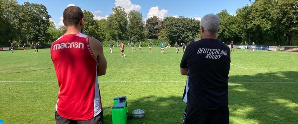 """7er-Rugbynationalspieler machen sich langsam auf in Richtung """"Normalität"""" /  Echte Wettkampfperspektive fehlt aber noch"""