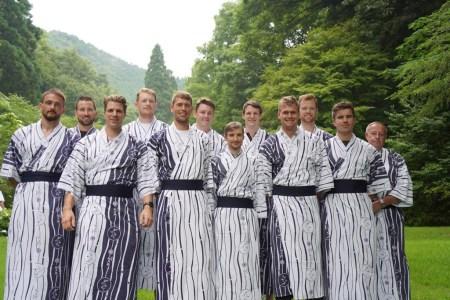 Deutschland-Achter reist von Kinosaki nach Tokio – Letzter Schritt auf dem Weg zu den Olympischen Spielen. Das Abschluss-Trainingslager ist gut verlaufen.