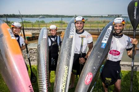 Das Olympia-Team 2021 Kanu-Slalom