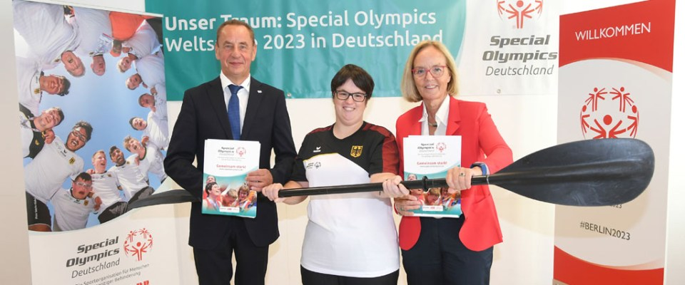 SOD und Deutscher Kanu-Verband beschließen Kooperation