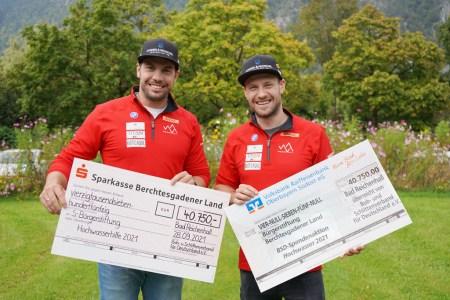 BSD übergibt 81.500 Euro – Hilfe für die Flut-Opfer im Talkessel