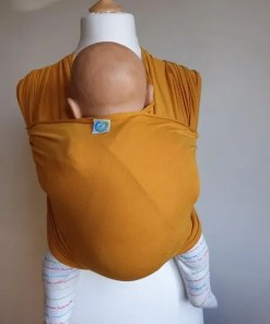 Yellow stretchy wrap
