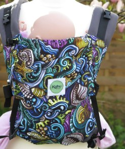 Moana seaside patterned Kahubaby Sunshine carrier