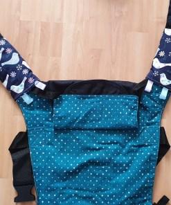 Suck pads shown on an Integra buckle carrier