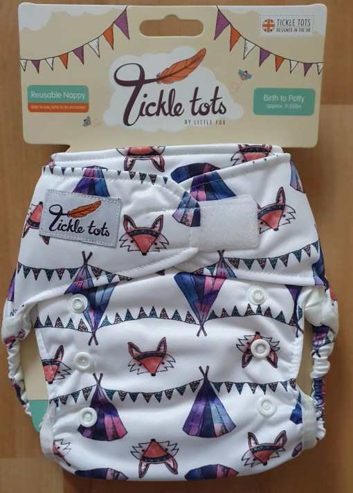 Camping Tickle Tots Nappy