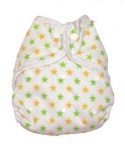 Muslinz Yellow Star Size 2 Wrap