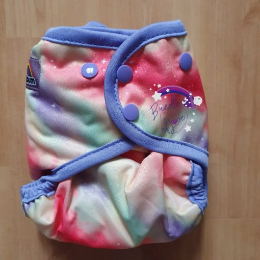 Smallest setting of the Little Lovebum Everyday nappy